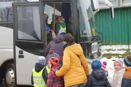 Lūznavas un Ozolaines pagastu bērnudārza audzēkņi apmeklē muzeju Rēzeknē 22.02.2017.