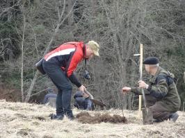 100 ozolu meža stādīšana Lūznavā_13