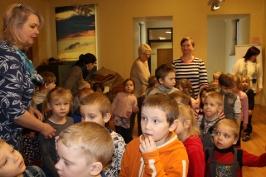Lūznavas un Ozolaines pagastu bērnudārza audzēkņi apmeklē muzeju Rēzeknē 22.02.2017._13