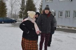 Senioru deju kolektīvs LŪZNAVA piedalījās Meteņdienas pasākumā Ozolaines pagastā 26.02.2017.